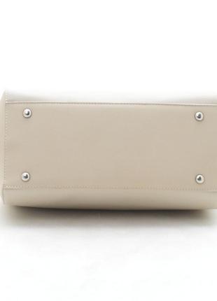 Новая бежевая женская сумка4
