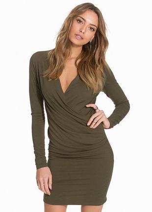 Трикотажное платье vila1