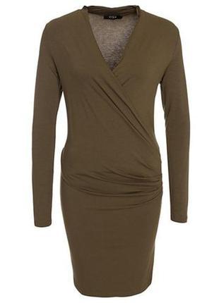 Трикотажное платье vila2