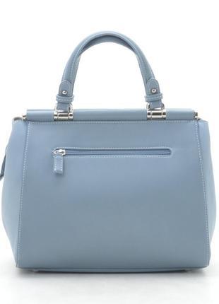 Новая женская голубая сумка3