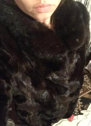 Норковая шуба на размер м-л3 фото