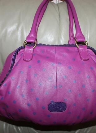 Оригинальная сумка из высококачественной натуральной кожи5 фото