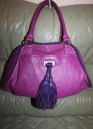 Оригинальная сумка из высококачественной натуральной кожи1 фото