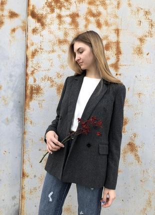 Удлиненный пиджак/жакет/ пиджак в рубчик vero moda