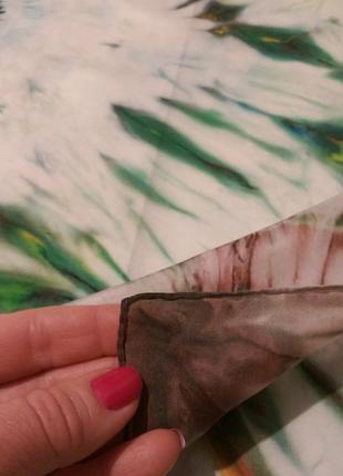 Натуральный качественный шелк,красивый батик,роуль,86*916