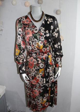 Платье на запах zara3