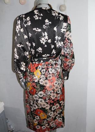 Платье на запах zara2