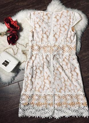 Шикарное кружевное платье6