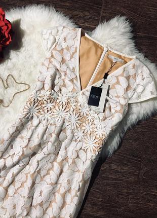 Шикарное кружевное платье8