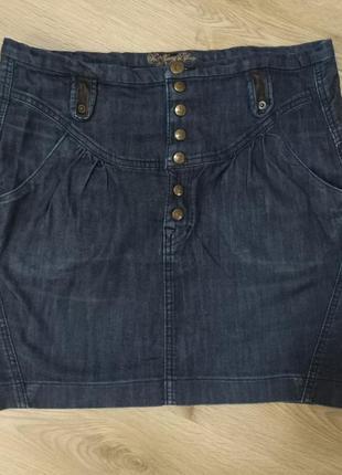 Юбка джинсовая1 фото