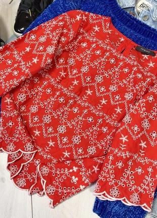 Шикарная блуза с вышивкой2
