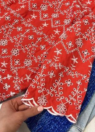 Шикарная блуза с вышивкой3
