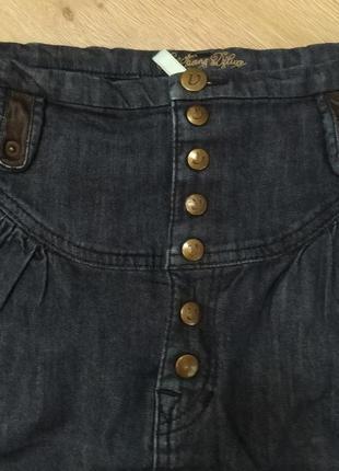 Юбка джинсовая3