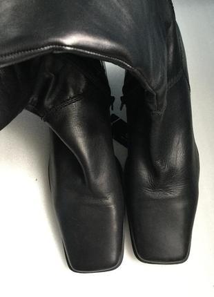 Сапоги кожаные canda c&a, деми 42-43 р.3
