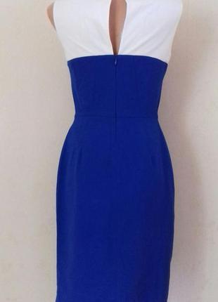 Элегантное двухцветное платье4