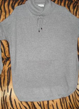 "Супер стильная кофта серого цвета""collection luxe""р.s next"""