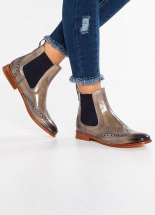 Идеальные кожаные туфли.ботинки.дерби .челси  melvin & hamilton1 фото