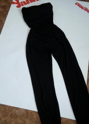 Черный брючный комбинезон топ беременным распродажа 48 размер sale new look5