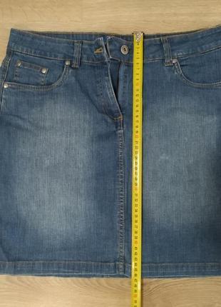 Юбка джинсовая4