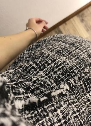 Монохромное твидовое платье dorothy perkins2