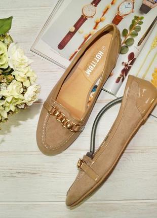 Hot item. комфортные туфли, лоферы на низком ходу1 фото