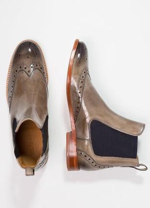 Идеальные кожаные туфли.ботинки.дерби .челси  melvin & hamilton2 фото