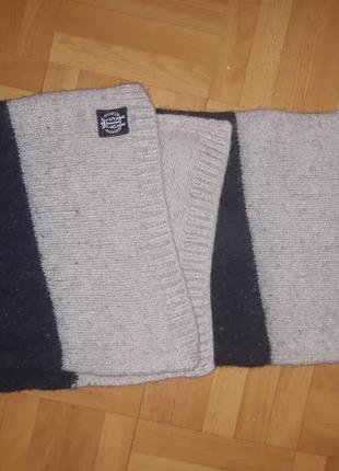 Теплющий и роскошный шарф tommy hilfiger оригинал