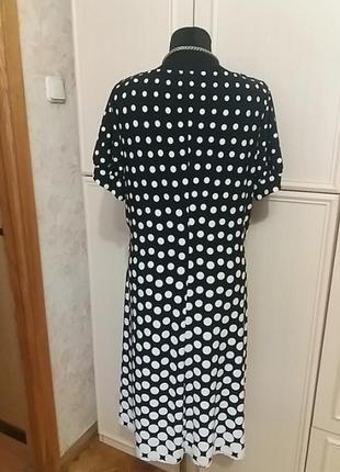 Замечательное платье в горохи next р. 54-561