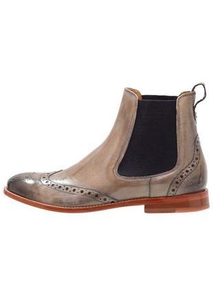 Идеальные кожаные туфли.ботинки.дерби .челси  melvin & hamilton4 фото