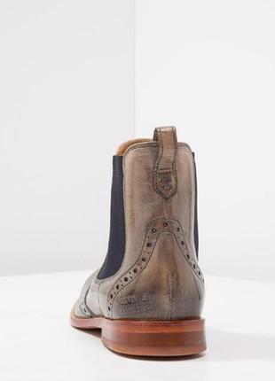 Идеальные кожаные туфли.ботинки.дерби .челси  melvin & hamilton5 фото