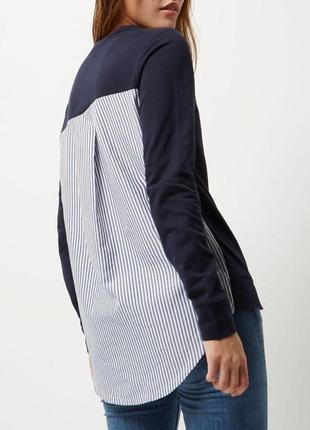 Кофта свитер худи свитшот в полоску river island2