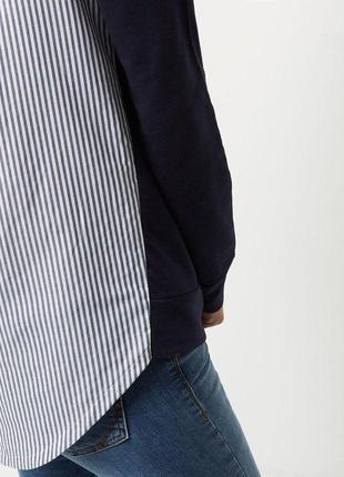 Кофта свитер худи свитшот в полоску river island3