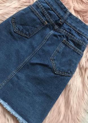 Джинсовая юбка3 фото