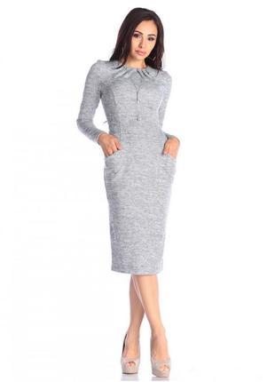 Недорого: новое платье с карманами на весну1