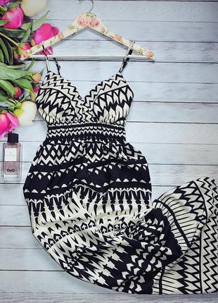 Шикарное платье сарафан1 фото