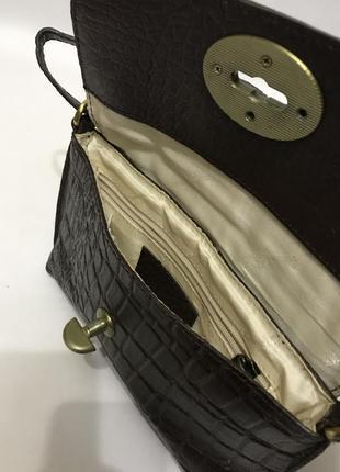 Сумка sienna de luca italy 🇮🇹 натуральная кожа8 фото