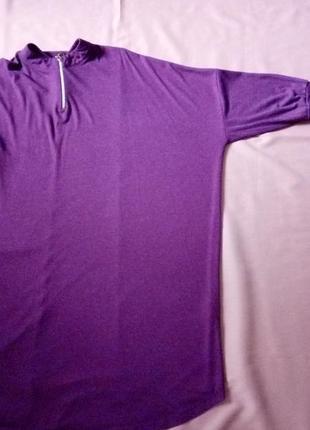 Шикарное трикотажное платье оверсайз, турция5