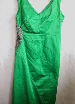 Атласное платье julien macdonald2