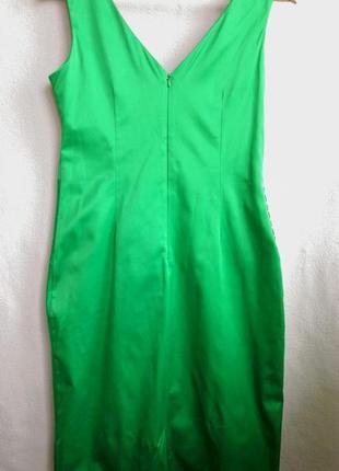 Атласное платье julien macdonald3