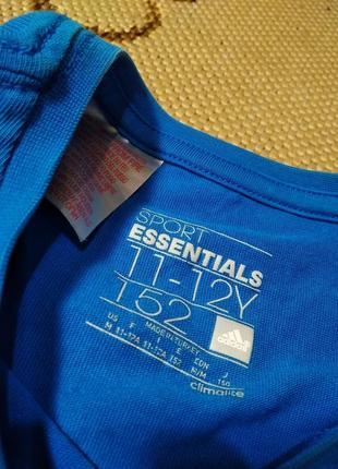 Футболка adidas climalite essentials для тренировок и спорта адидас3
