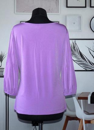 Блуза трикотажная с кружевной отделкой biba2