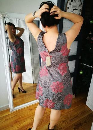 Вышитое платье moonsoon 48-503