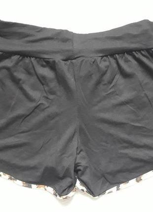 Классные шорты с леопардовой окантовкой body skult2