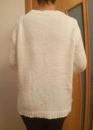 Стильный красивый свитер. размер 16.4