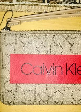 Сумочка клатч на руку оригинал calvin klein, привезена лично мною с сша