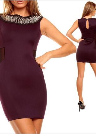 Вечернее платье с шипами3