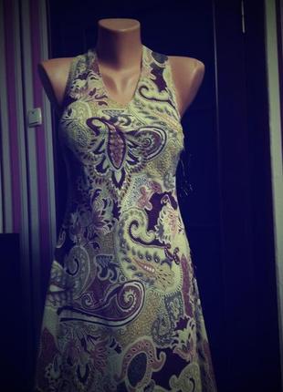 Платье сарафан принт большой 52 54 размер миди бюстье топ скидка sale new collection2