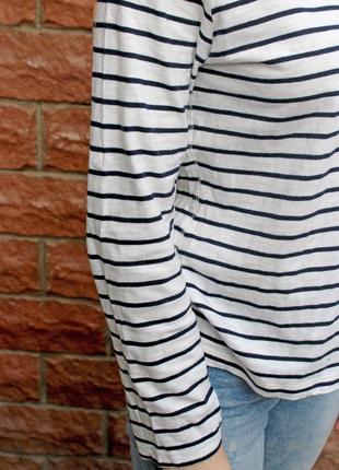 Обалденное качество! джемпер в полоску, гольф, водолазка, свитер, пуловер, кофта3 фото