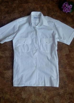 Рубашка белая нарядная 50 52 размер топ лук скидка sale5
