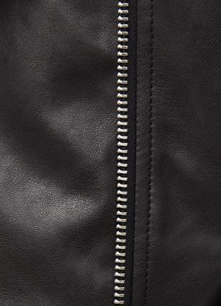 Новая укороченная куртка в байкерском стиле bershka косуха6